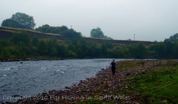 Fishing, Beer and the End of All Things Trout: The Hard Work on the River Usk Begins