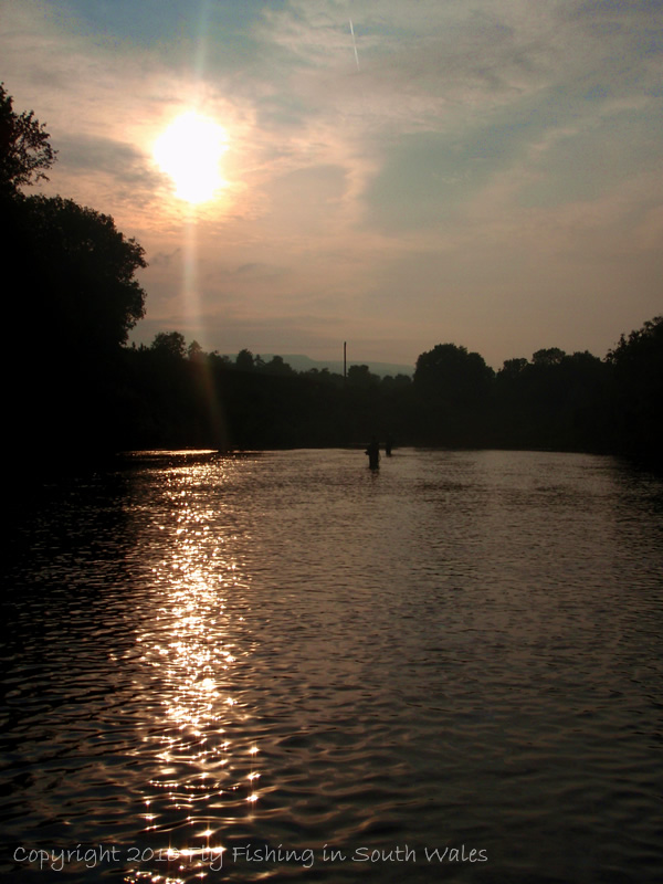 Fishing, Beer and the End of All Things Trout: Evening Descends on the Red River