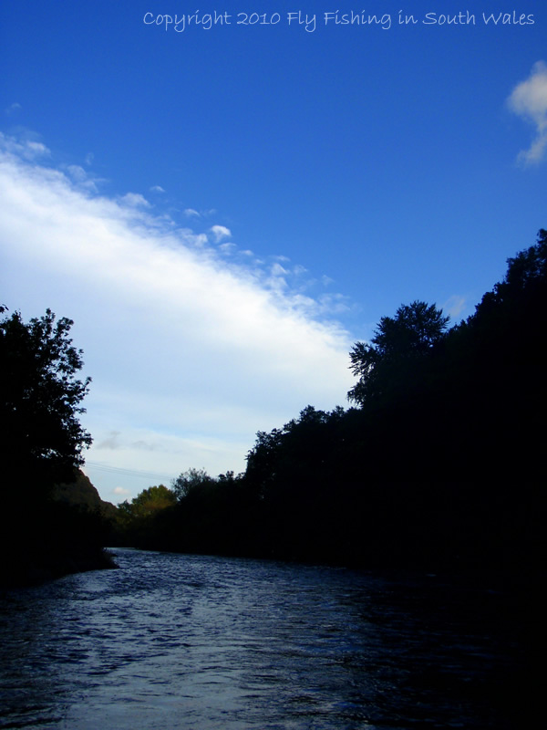 The Evening View: The River Taff
