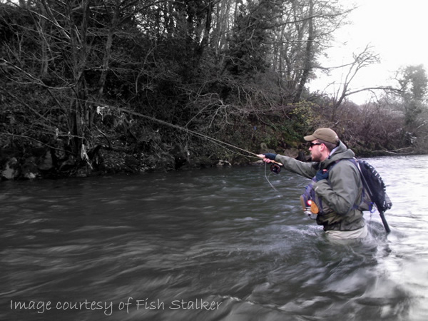 Fishing Revisited - FFISW short-lining a likely looking run