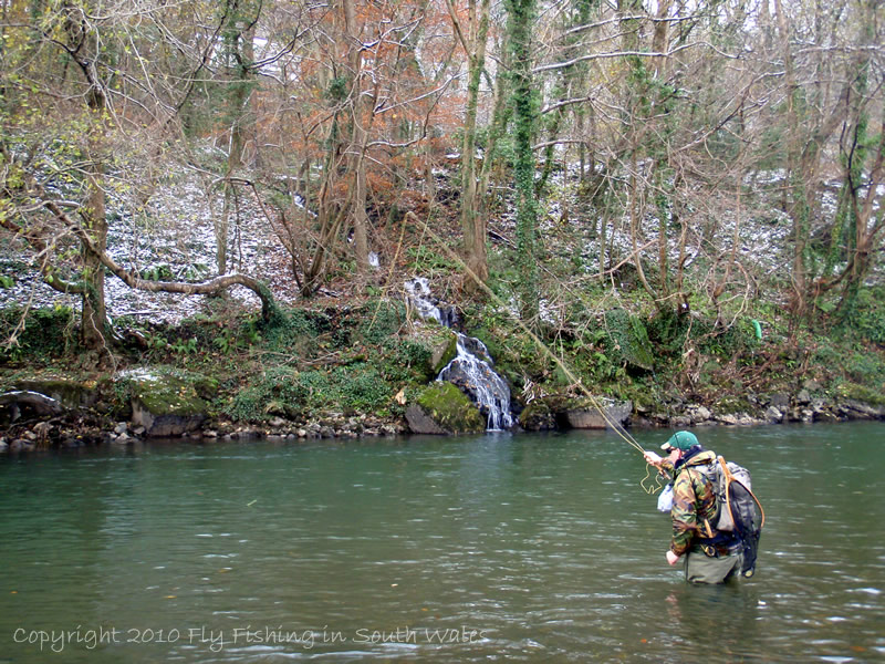 Fishing Revisited - Terry utilitising the French Nymphing technique