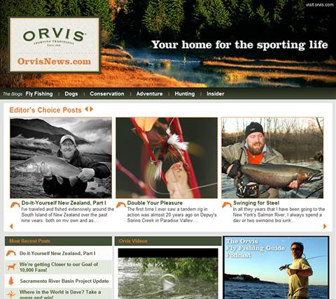 The Orvis News Blog at www.orvisnews.com