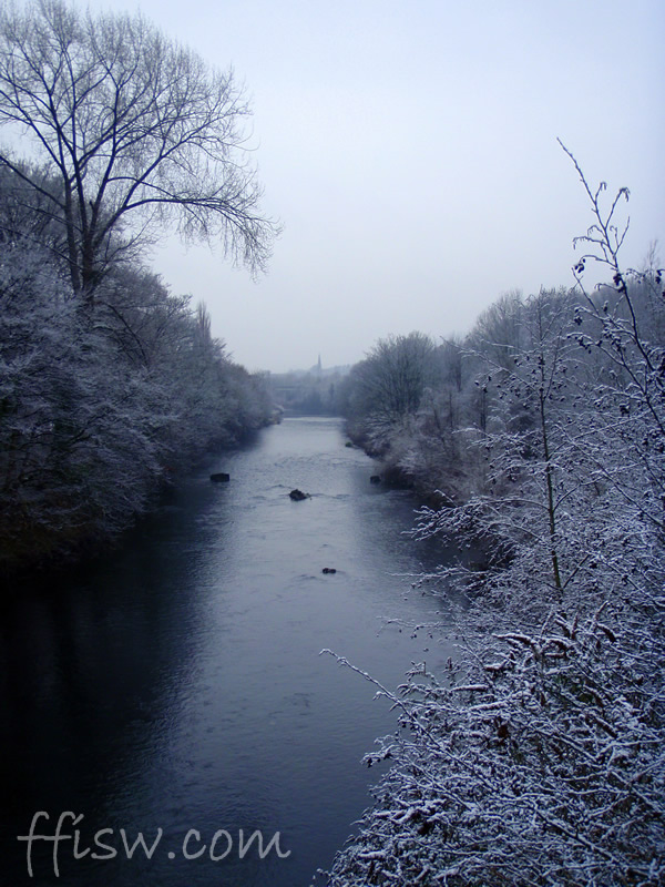 Snow on the water...