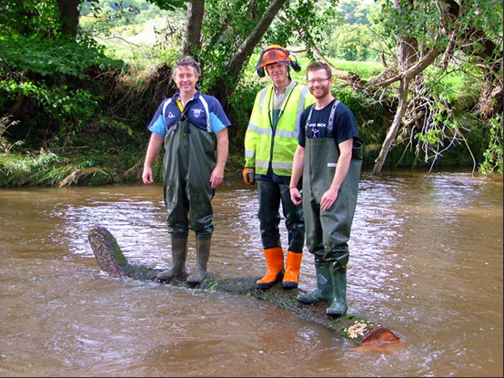 The Wild Trout Trust hard at work!