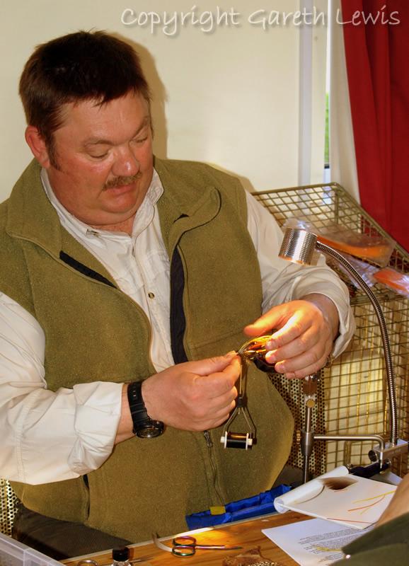 Mark Roberts detailing the fine art of classic salmon flies...