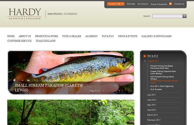 Hardy Fly Fishing Fin & Fly Magazine