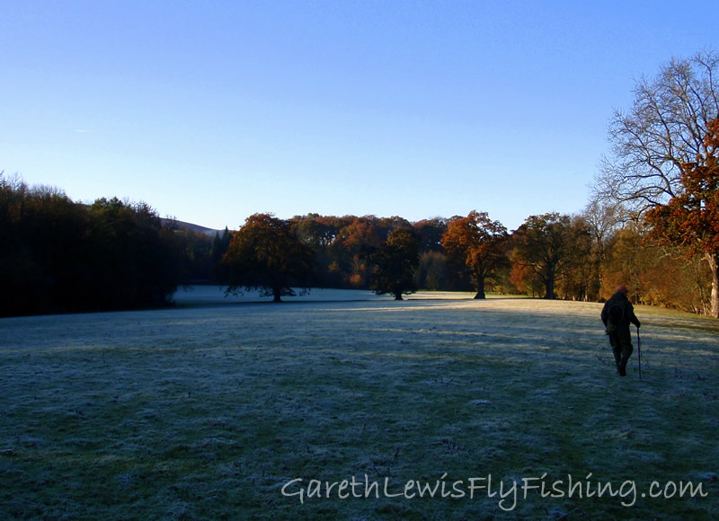...hours before, frost coveres all.