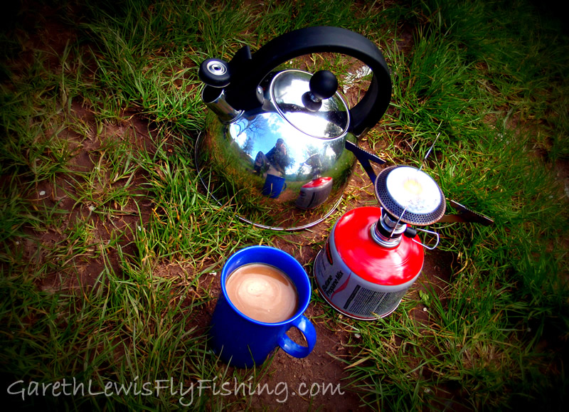 Fresh, river-side coffee. Beats a flash any day!