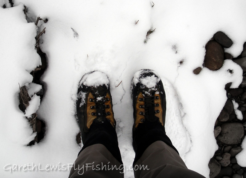 Snow shoes...literally!