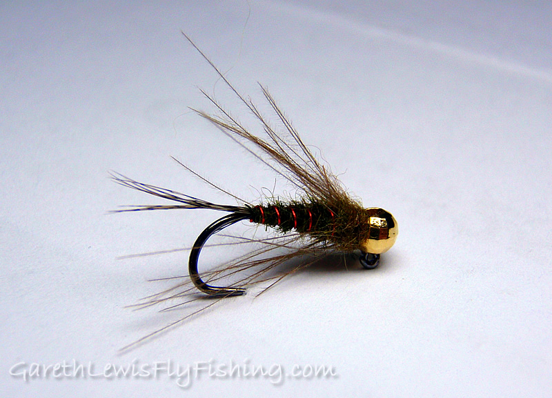 Olive & Red Jig - Dry