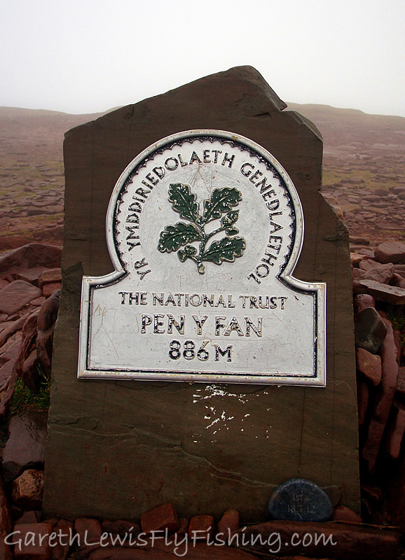 Pen y Fan Summit - 886m/2907ft