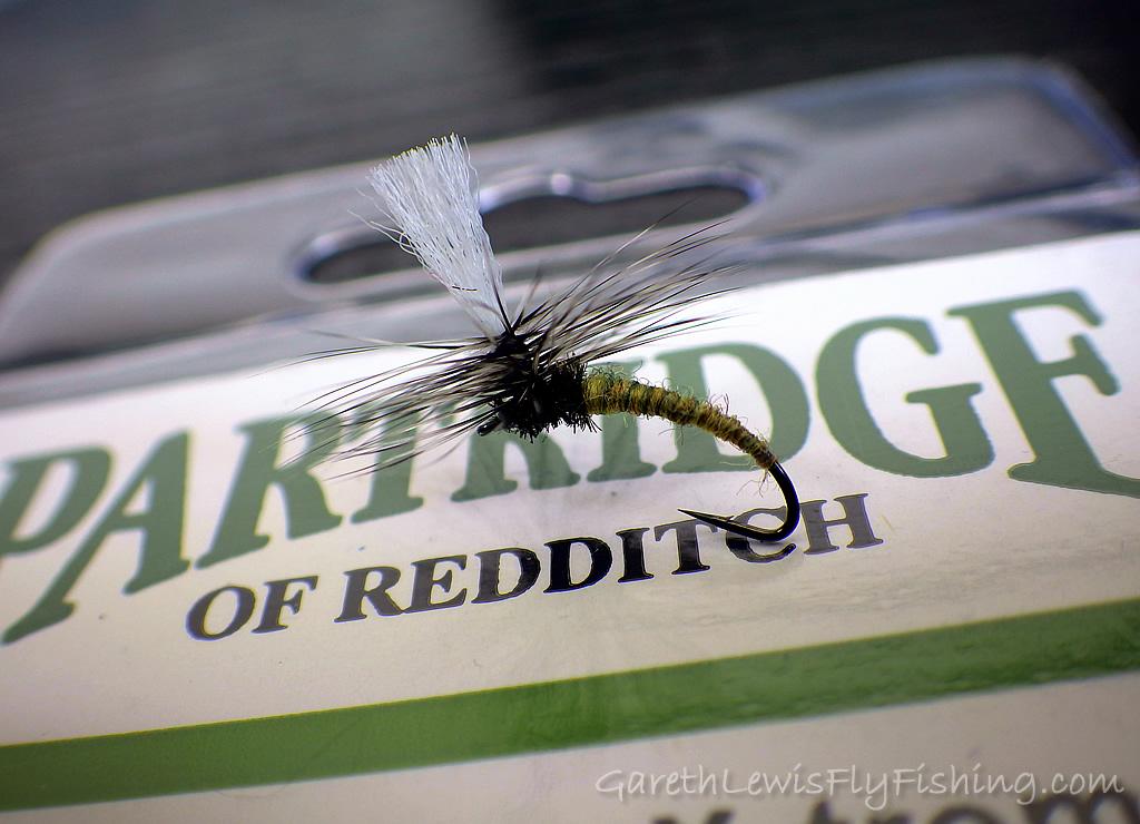 Olive Klinkhamer - Tied on the Partridge Klinkhamer X-treme (15BNX)