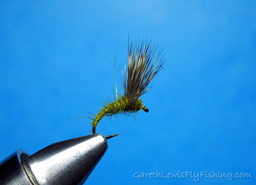Deer Hair Emerger  - Side